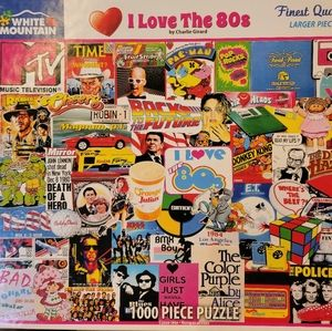 I Love the 80s Puzzle